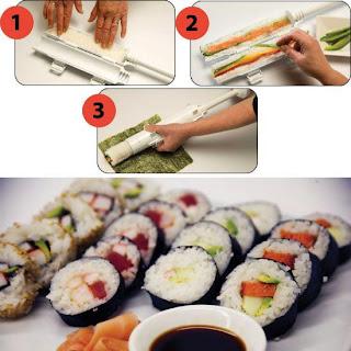 Cara Mudah Membuat Sushi