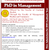 PhD in Management - University of Sri Jayewardenepura
