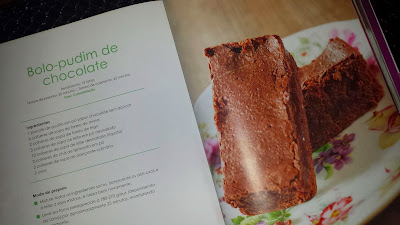 Bolo de Chocolate Dukan Low Carb