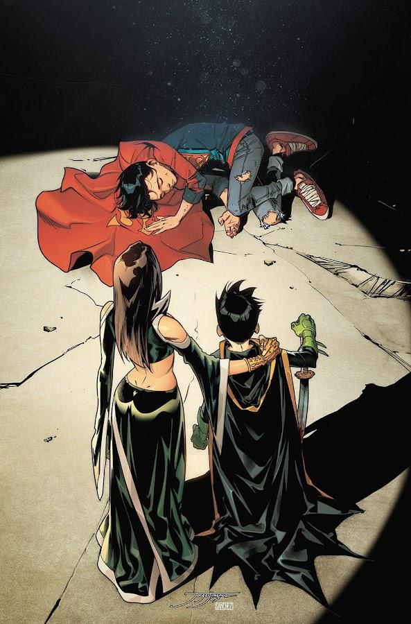 super sons dc comics talia al ghul