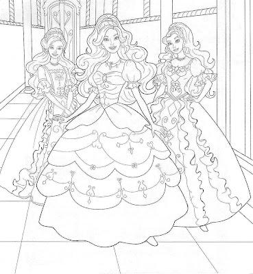 barbie logo coloring pages | Fazendo a Minha Festa para Colorir: Barbie - Imagens para ...