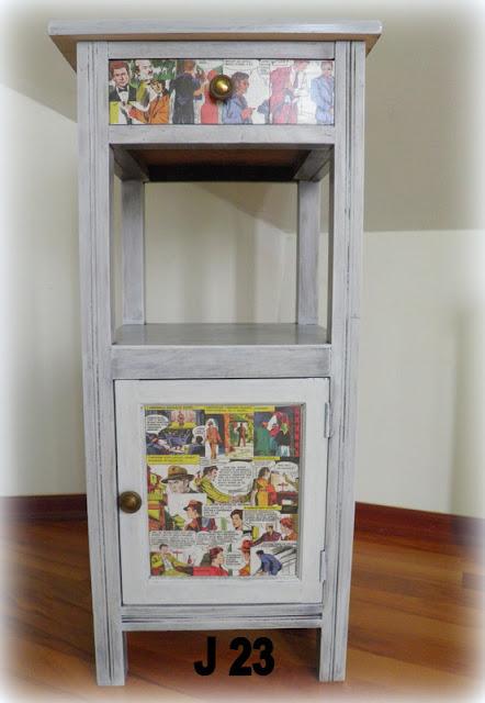 Komiksowa szafka