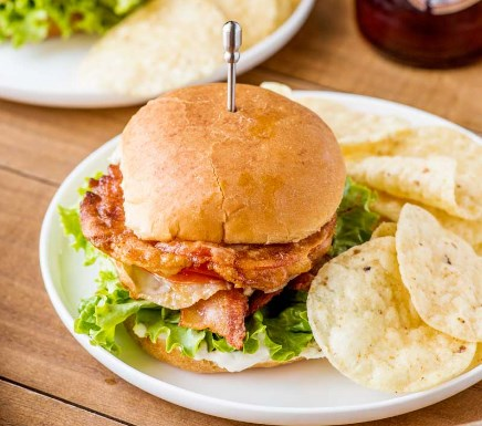 FRIED TOMATO BLT SLIDERS