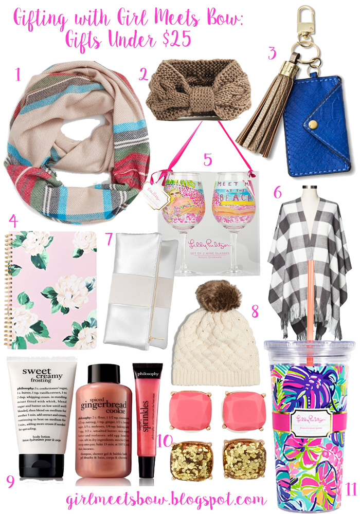 Gifting with Girl Meets Bow: Gifts Under $25 + Early Black Friday Sales!