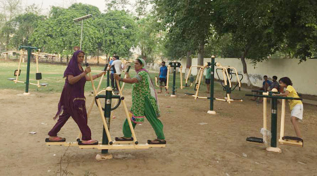 open-gym-in-police-line-faridabad