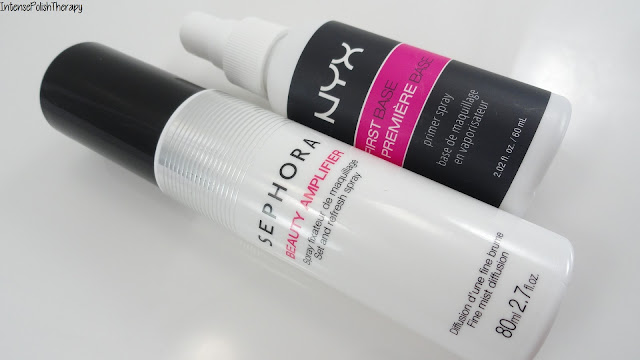 NYX First Base Primer Spray & Sephora Beauty Amplifier Set and Refresh Spray