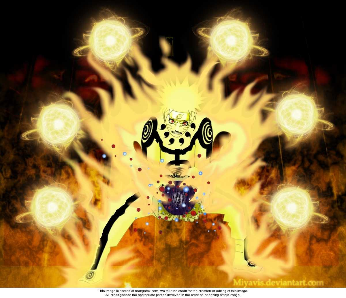 Anime Pictures: Naruto Uzumaki's Jinchuriki TransFormations