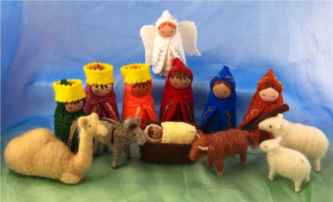 Estremamente New donna blog: Creazioni natalizie in feltro e pannolenci TX62