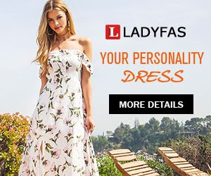Ladyfas Maxi Sexy Women's  Tops in 2019