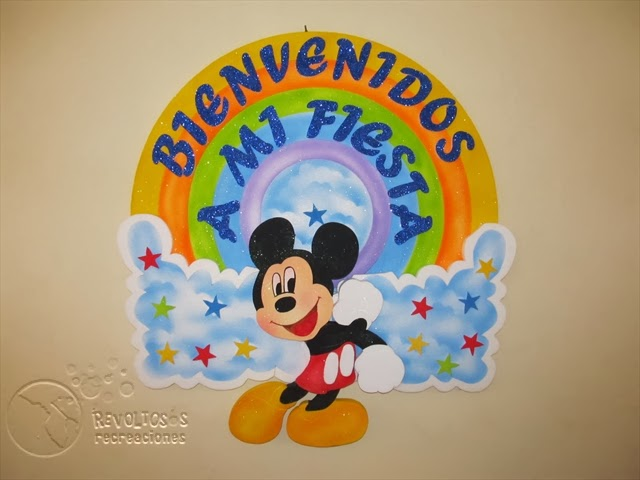 DECORACION FIESTAS INFANTILES MICKEY MOUSE 4 RECREACIONISTAS MEDELLIN