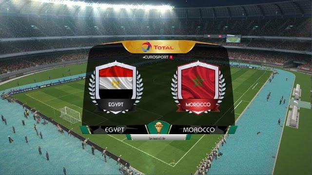 Scoreboard Africa Cup PES 2017