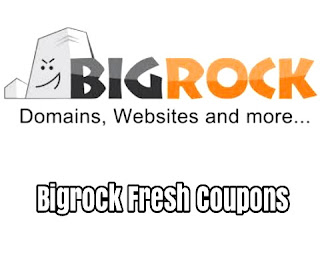 Bigrock coupons fresh and working
