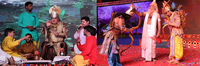 लवकुश रामलीला में दूसरे दिन बॉलीवुड सितारों ने बिखेरी चमक