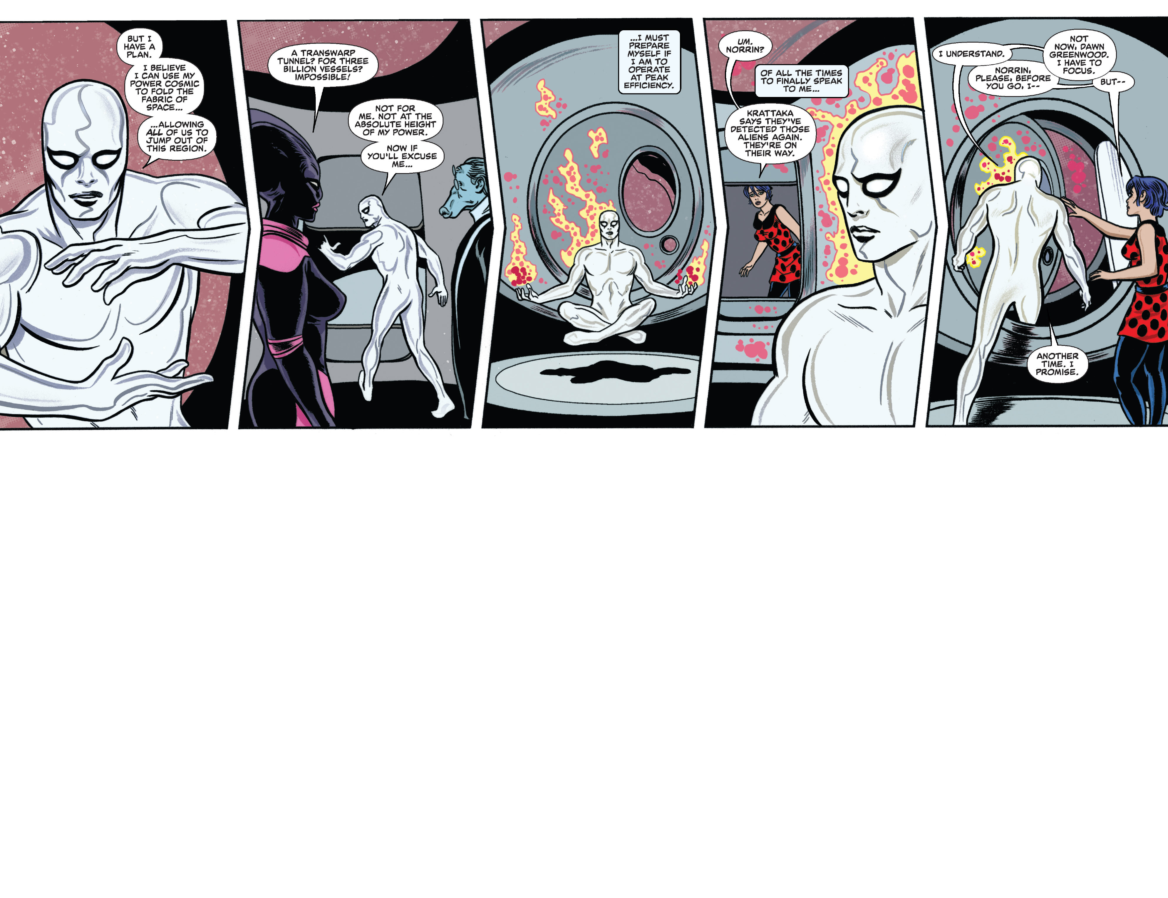 Read online Silver Surfer (2014) comic -  Issue #11 - 29
