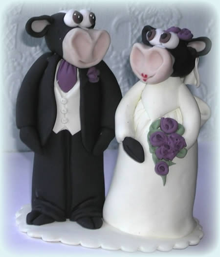craziest wedding cake toppers 14 funniest wedding cake toppers somethin 13040