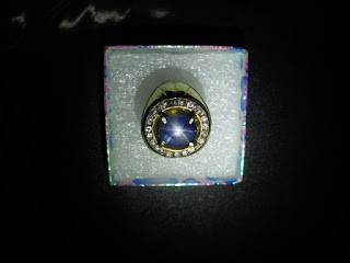 blue safir ster selon