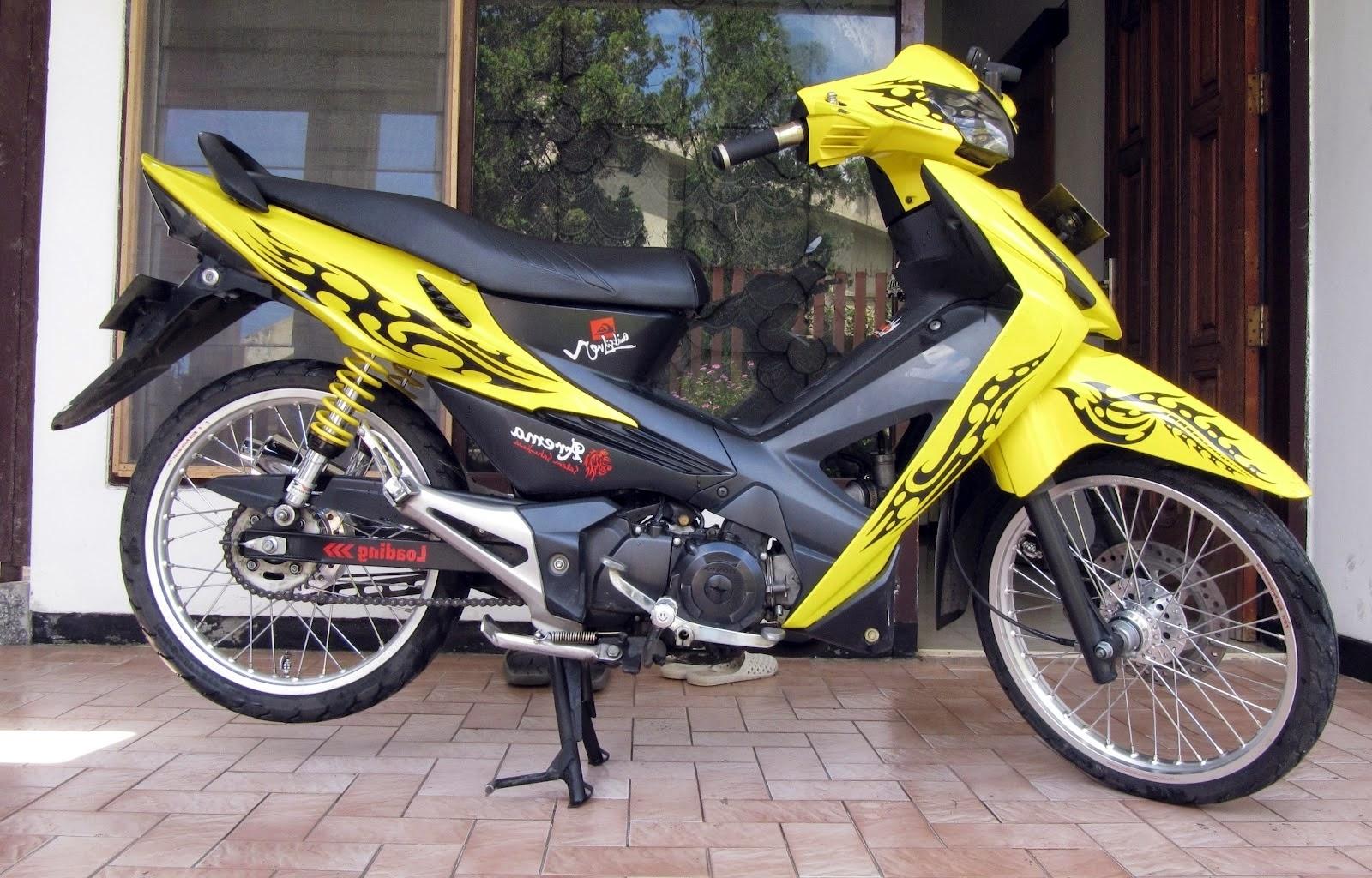 Koleksi 73 Modifikasi Motor Bebek Honda Revo Terbaru Pojok Otomania