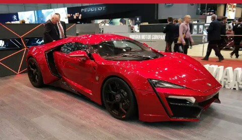 Car 5 Lykan Hypersport