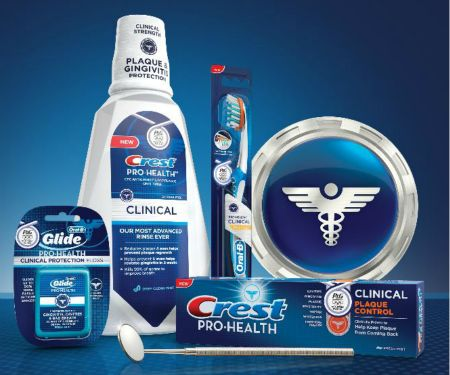 Crest & Oral-B Pro-Health Clinical Products