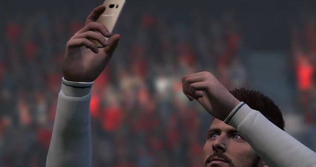 "Selfie Mod ""Samsung"" Phone PES 2017"