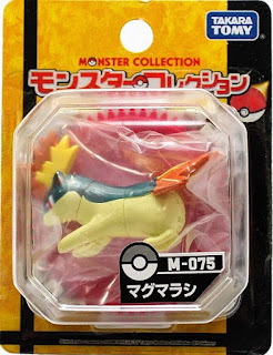 Quilava figure Takara Tomy Monster Collection M series