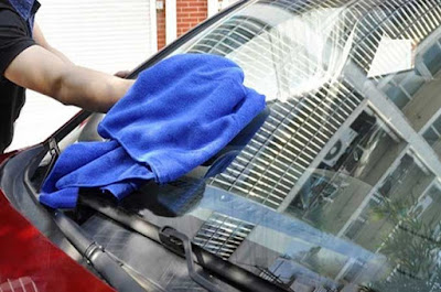 hình ảnh chất liệu vải khúc, vải đầu khúc chùi xe ô tô giá rẻ tại thủ dầu một