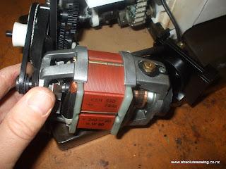 sewing machine motor repair