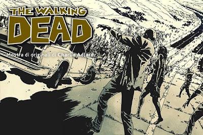 Falcomics 2013 - The Walking Dead le tavole originali di Charlie Adlard