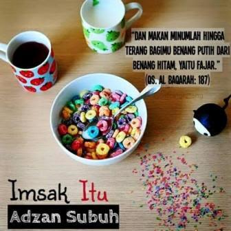 Hukum Makan Sahur Ketika Adzan Shubuh