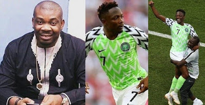 Don Jazzy reacts to Super Eagles' victory against Iceland, says he's ready to impregnate any girl