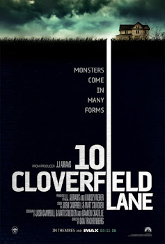 Poster Of 10 Cloverfield Lane 2016 In Hindi Bluray 720P Free Download