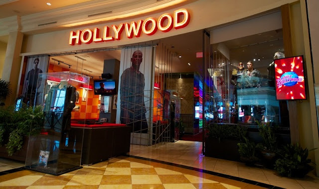 Loja de souvenirs do Planet Hollywood em Las Vegas