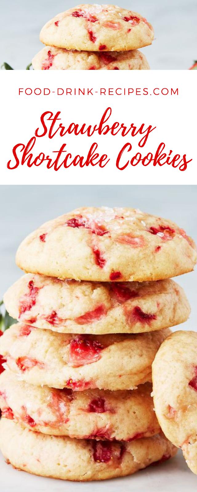 Strawberry Shortcake Cookies - food-drink-recipes.com