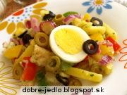 Zemiakový šalát so zeleninou - recept