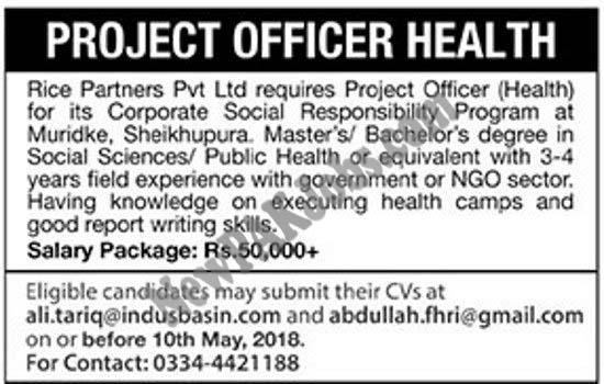 latest-jobs-in-rice-partners-pvt-ltd-in