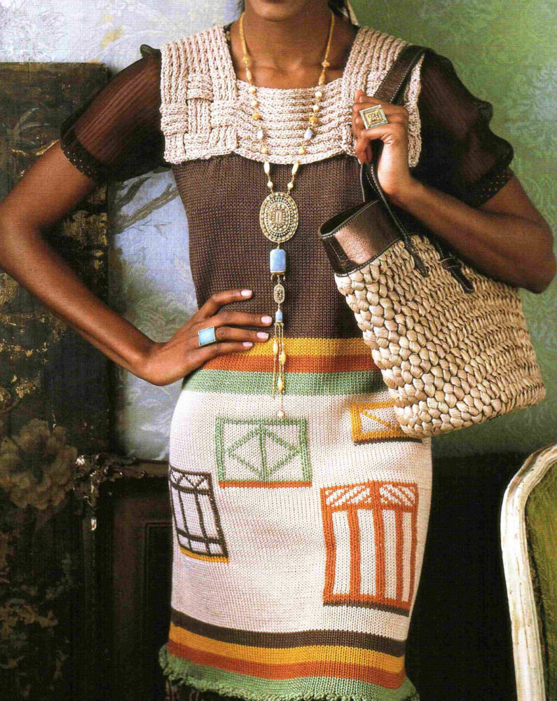 Patron Crochet Vestido Detalles