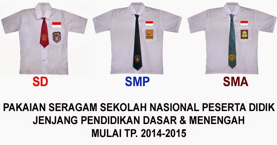 Pakaian Seragam Sekolah Nasional Bagi Peserta Didik