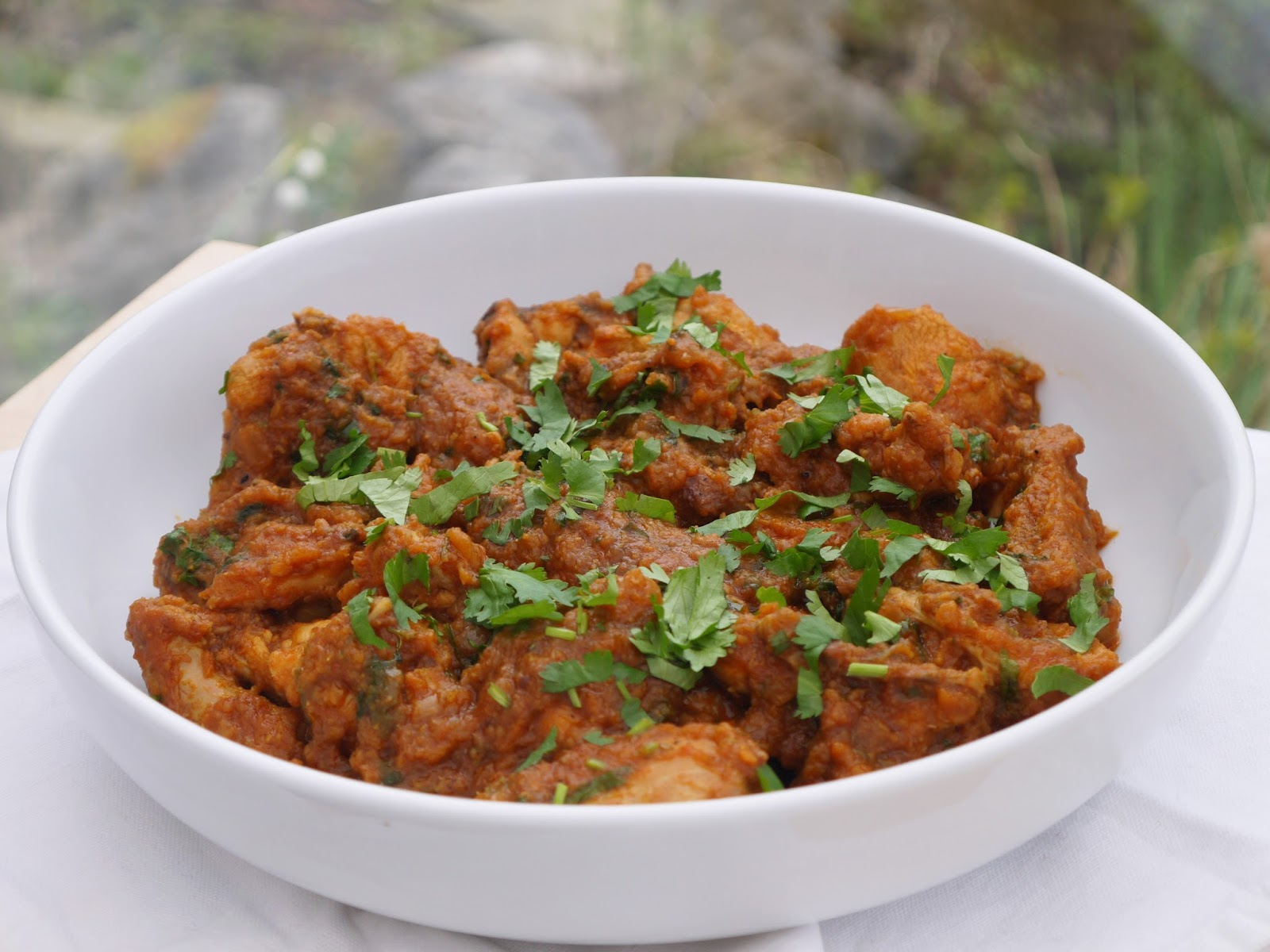 This Muslim Girl Bakes: Our House Pakistani Chicken Curry.