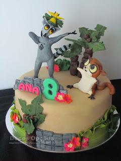 cake birthday All Hail King Julien