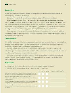 Apoyo Primaria Ciencias Naturales 4to Grado Bloque II Proyecto Nuestro ecosistema