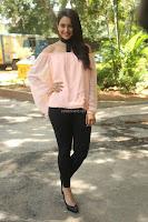 Rakul Preet Singh in lovely Pink Crop Top and Black Trousers at Jaya Janaki Nayaka success meet 074.JPG