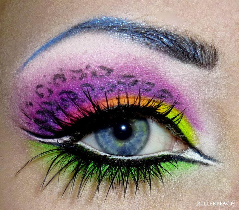 23-Neon-Kitty-Pop-Killerpeach94-Body-Painting-The-Eye-Treatment-www-designstack-co