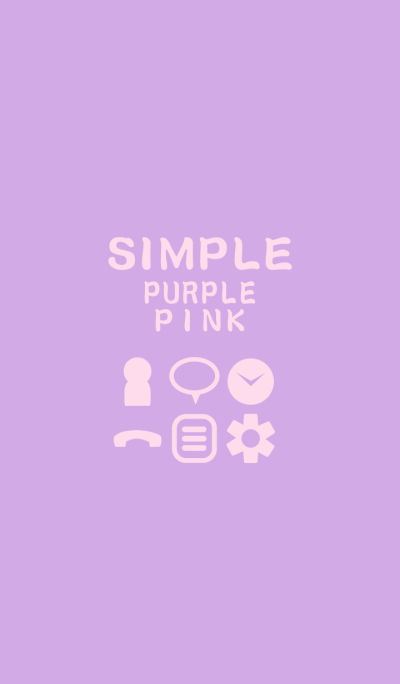 SIMPLE purple*pink