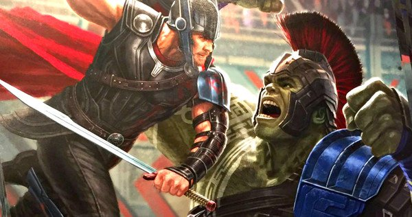 gladiator hulk vs thor d23 expo