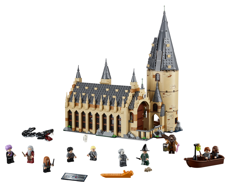 Lego Hogwarts Castle and Harry Potter characters