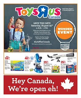 Toys R Us Weekly Flyer Circulaire August 17 - 23, 2018
