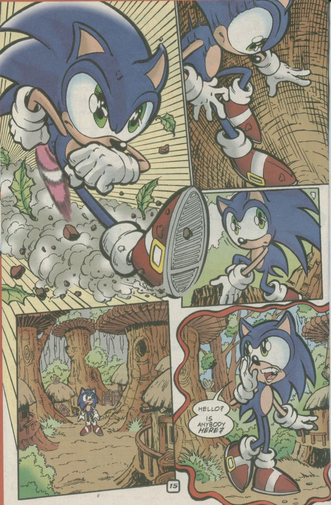 Read online Sonic The Hedgehog comic -  Issue #73 - 20