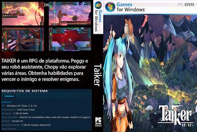 Jogo Taiker PC DVD Capa