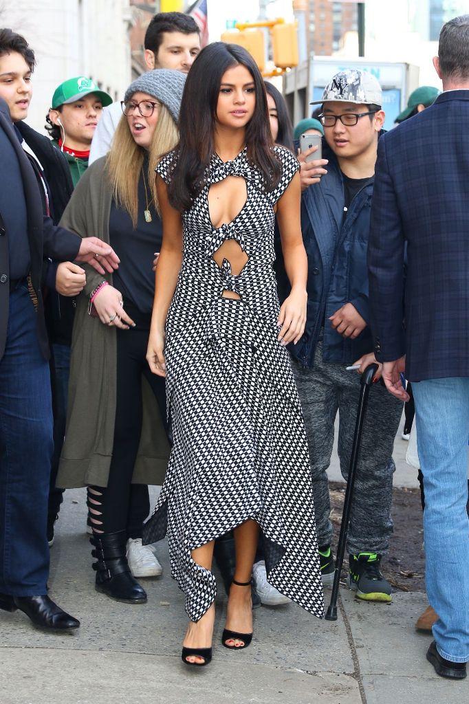 Selena Gomez Arriving at Her Hotel in Soho, NYC
