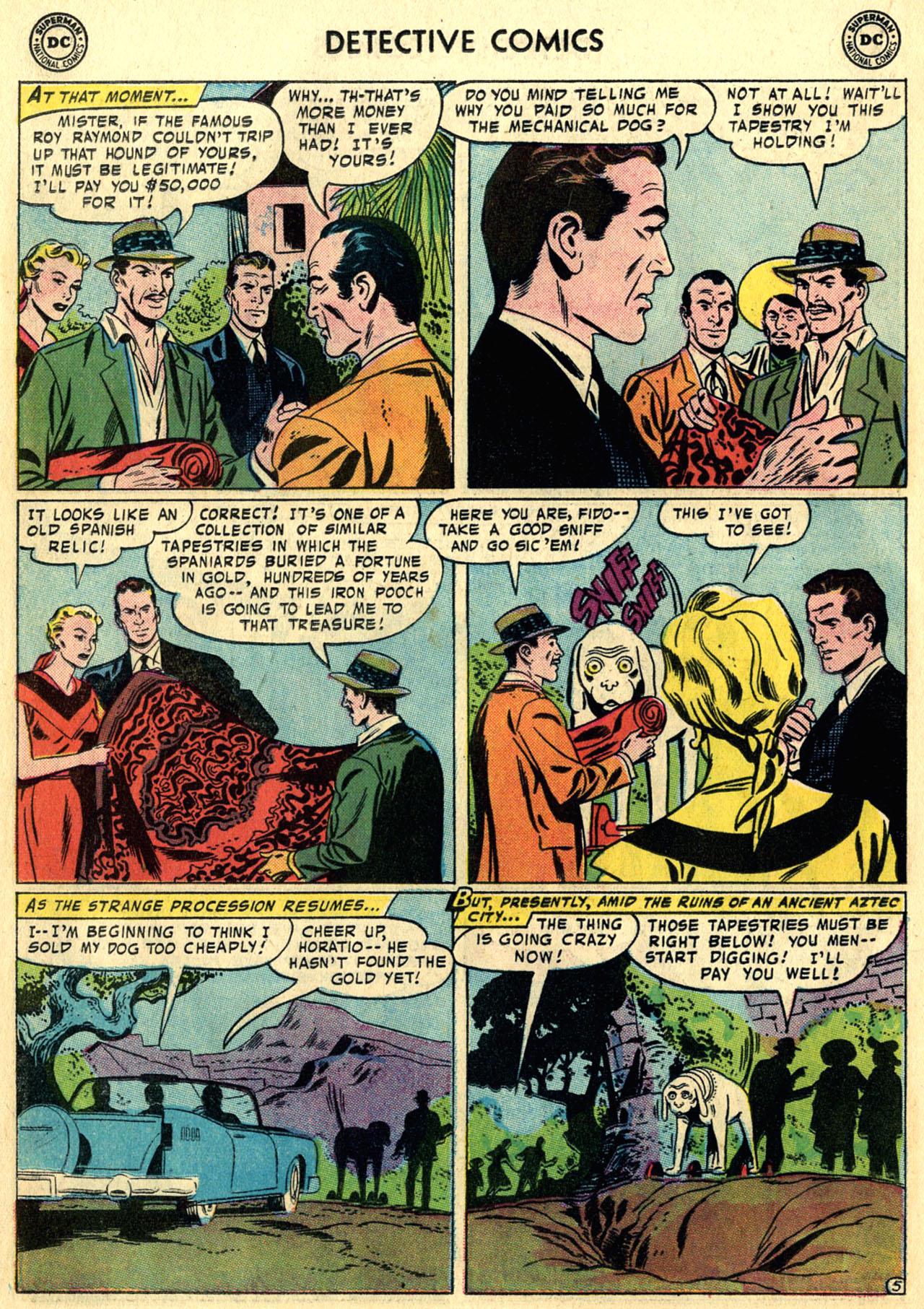 Read online Detective Comics (1937) comic -  Issue #247 - 22